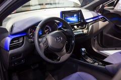 Vinnitsa, Ukraine - 16 décembre 2016 Voiture de concept de Toyota C-HR Dans Photographie stock