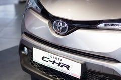 Vinnitsa, Ukraine - 16 décembre 2016 Voiture de concept de Toyota C-HR Franc Photo stock