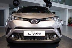 Vinnitsa, Ukraine - 16 décembre 2016 Voiture de concept de Toyota C-HR Franc Images libres de droits