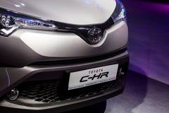 Vinnitsa, Ukraine - 16 décembre 2016 Voiture de concept de Toyota C-HR Franc Photos stock
