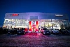 Vinnitsa, Ukraine - 16. Dezember 2016 Konzeptauto Toyotas C-HR Zu Lizenzfreie Stockfotografie