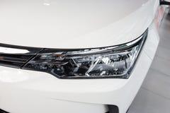 Vinnitsa, Ukraine - January 10, 2018. Toyota Corolla concept car. Headlight Royalty Free Stock Photo