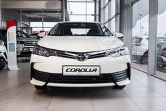 Vinnitsa, Ukraine - January 10, 2018. Toyota Corolla concept car. Front view Stock Photography