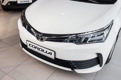 Vinnitsa, Ukraine - January 10, 2018. Toyota Corolla concept car. Front view Stock Photos