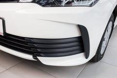 Vinnitsa, Ukraine - January 10, 2018. Toyota Corolla concept car. Headlight Stock Photo