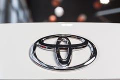 Vinnitsa, Ukraine - January 10, 2018. Toyota Corolla concept car. Logo Stock Photo