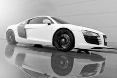 Vinnitsa, Ukraine - 11 novembre 2012 Voiture de concept d'Audi R8 Audi s Images stock