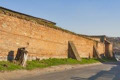 Vinnitsia历史的市中心,乌克兰 免版税库存照片
