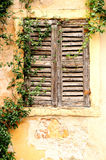 Vinntage window. Royalty Free Stock Photography