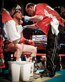 Vinny Paz and Kevin Rooney Royalty Free Stock Photography