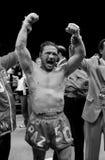 Vinny Paz v Tocker Pudwell 50ste Overwinning Royalty-vrije Stock Afbeeldingen