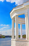 Vinnytsia city and Southern Buh in the spring. Ukraine Royalty Free Stock Photos