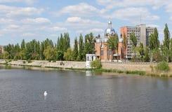Vinnytsia city in the spring. Ukraine Royalty Free Stock Image