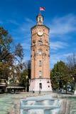 Vinnytsia, Ucrânia - 3 de outubro de 2015: Torre de fogo velha com pulso de disparo, Vinnytsia, Ucrânia Imagens de Stock Royalty Free
