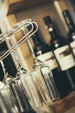 Vino αμπέλων κρασιού Στοκ φωτογραφία με δικαίωμα ελεύθερης χρήσης