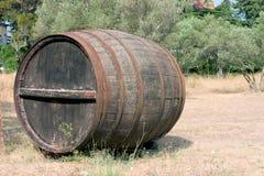 vino βαρελιών Στοκ Φωτογραφίες