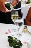 Vino bianco Fotografie Stock Libere da Diritti