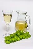 Vino bianco Fotografie Stock