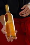 Vino bianco Fotografia Stock Libera da Diritti