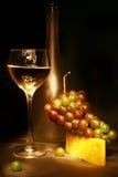 Vino bianco Fotografia Stock