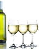 Vino bianco Immagini Stock