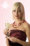 Vino bianco Immagini Stock Libere da Diritti