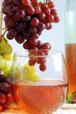 Vino bianco dello Zinfandel Fotografie Stock Libere da Diritti