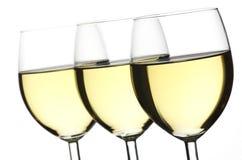 Vino blanco Foto de archivo