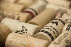 Vino Cork Background imagenes de archivo