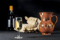 Vino de Manzanilla Imágenes de archivo libres de regalías