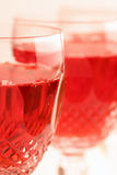 Vino de Rosé Foto de archivo libre de regalías
