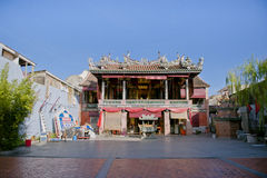 Vino del Rin Teik Cheng Sin Temple o vino del Rin Seah que están situados en calle armenia, George Town, Penang, Malasia de Poh Foto de archivo libre de regalías