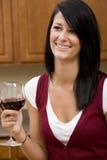 vino dell'assaggio Fotografia Stock
