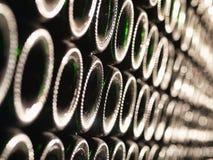 vino delle bottiglie Immagine Stock