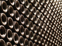 vino delle bottiglie Fotografie Stock