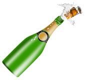 Vino di Champagne Fotografia Stock Libera da Diritti