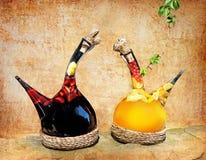 Vino di frutta Immagini Stock Libere da Diritti