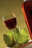 Vino di Rosa Fotografia Stock