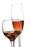 Vino e Champagne Fotografia Stock