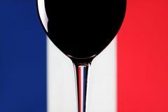 Vino francese. fotografie stock libere da diritti