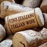 Vino italiano imagen de archivo libre de regalías
