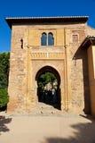 vino puerta alhambra de del granada Стоковая Фотография