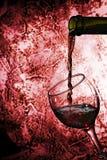 Vino rojo Imagen de archivo libre de regalías