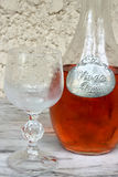 Vino rosato Fotografie Stock