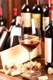 Vino rosso Immagini Stock