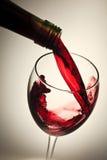Vino rosso Fotografia Stock Libera da Diritti