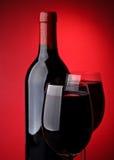 Vino rosso Fotografie Stock Libere da Diritti