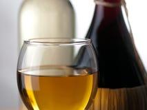 Vino rosso bianco e Fotografia Stock Libera da Diritti