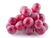 Vino rosso su bianco Immagini Stock Libere da Diritti