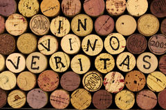 In vino veritas. Royalty Free Stock Photos